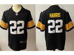 Mens Nfl Pittsburgh Steelers #22 Pittsburgh Steelers Black Vapor Untouchable Limited Nike Jersey