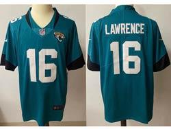 Mens Nfl Jacksonville Jaguars #16 Trevor Lawrence Green Vapor Untouchable Limited Nike Jersey