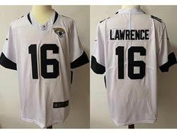 Mens Nfl Jacksonville Jaguars #16 Trevor Lawrence White Vapor Untouchable Limited Nike Jersey