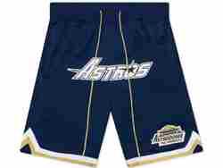 Mens Mlb Houston Astros Dark Blue Just Don Home Run Derby Pocket Shorts