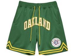 Mens Mlb Oakland Athletics Green 1987 All Star Just Don Home Run Derby Pocket Shorts