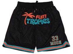 Mens Nba Movie Flint Tropics Semi Pro #33 Jackie Moon Just Don Pocket Shorts
