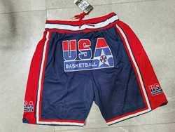 Nba Usa Dream Team Dark Blue Pocket Shorts
