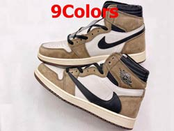 Mens And Women Air Jordan 1 Retro High Og Basketball Shoes 9 Colors