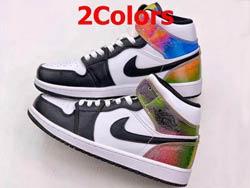 Mens And Women Nike Air Jordan 1 Mid Basketball Shoes 2 New Colors