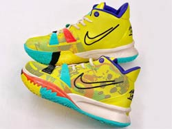 Mens Nike Kyrie 7 Pre Heat Running Shoes One Color
