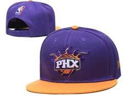 Mens Nba Phoenix Suns Snapback Adjustable Flat Hats 3 Color