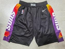 Mens 2021 Nba Phoenix Suns Black Nike Shorts