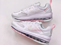 Women Nike Air Max Genome Running Shoes One Color