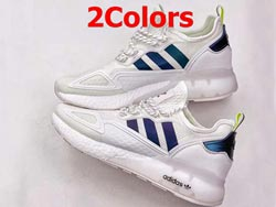 Mens And Women Adidas Originals Zx 2k Boost Running Shoes 2 Colors