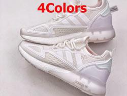 Mens Adidas Originals Zx 2k Boost Running Shoes 4 Colors