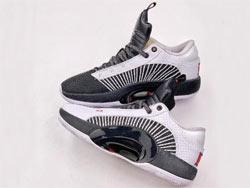 Mens Nike Air Jordan 35 Low Running Shoes One Color