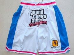 Mens Nba Los Angeles Clippers #2 Kawhi Leonard White Just Don Pocket Shorts