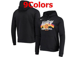 Mens Nba Phoenix Suns 2020&21 Pullover Hoodie Jersey With Pocket 9 Colors