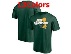Mens Nba Milwaukee Bucks 2021 Nba Finals Champions T Shirt Jersey 13 Colors