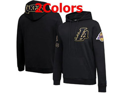 Mens Nba Los Angeles Lakers Pullover Hoodie Jersey With Pocket 2 Colors