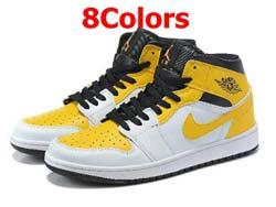 Mens And Women Nike Air Jordan 1 High Aj1 Basketball Shoes 8 Colors