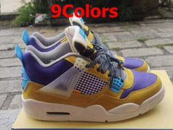 Mens And Women Nike Air Jordan4 Aj4 Mid Basketball Shoes 9 Colors