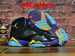 Mens And Women Nike Air Jordan7 Aj7 High Basketball Shoes 14 Colors