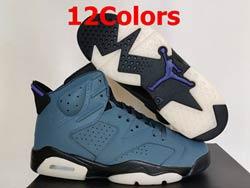 Mens Women Nike Air Jordan6 Aj6 High Basketball Shoes 13 Colors