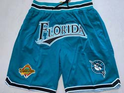 Mens Mlb Florida Marlins Green 1997 World Series Champions Just Do Pocket Shorts