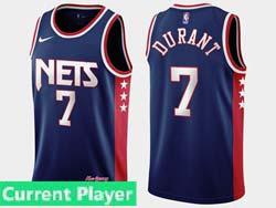 Mens 2021-22 Nba Brooklyn Nets Current Player Dark Blue Nike Swingman Jersey