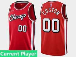 Mens 2021-22 Nba Chicago Bulls Current Player Red Nike Swingman Jersey