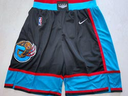 Mens Nba Memphis Grizzlies Black Nike Shorts