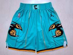 Mens Nba New Orleans Hornets Green Adidas Shorts