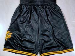 Mens 2021 Nba Philadelphia 76ers Black Shorts