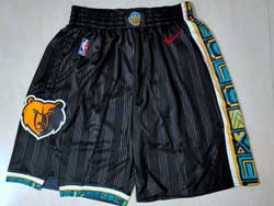 Mens 2021 Nba Memphis Grizzlies Black City Edition Nike Shorts