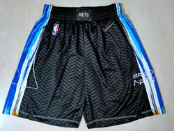 Mens 2021 Nba Brooklyn Nets Black City Edition Nike Shorts