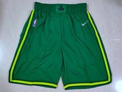 Mens Nba Boston Celtics Green Earned Edition Nike Shorts