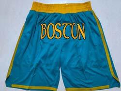 Mens Nba Boston Celtics Green Earned Edition Pocket Shorts