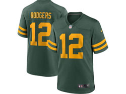 Mens Nfl Green Bay Packers #12 Aaron Rodgers Green 2021 Legend Game Nike Jersey