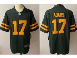 Mens Nfl Green Bay Packers #17 Davante Adams 2021 Green Vapor Untouchable Limited Nike Jersey