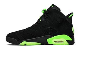 Mens Nike Air Jordan 6 Retro Oregon Ducks Pe High Basketball Shoes