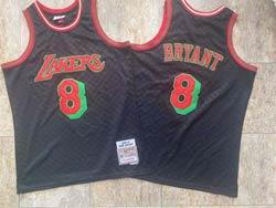 Mens Nba Los Angeles Lakers #8 Kobe Bryant Black 96-97 Mitchell&ness Hardwood Classics Swingman Jersey