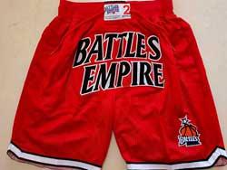 Mens Nba Battles Empire Red Just Don Pocket Shorts
