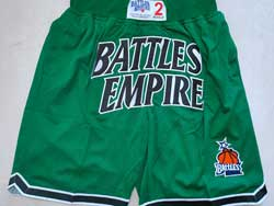Mens Nba Battles Empire Green Just Don Pocket Shorts