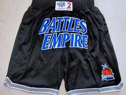 Mens Nba Battles Empire Black Just Don Pocket Shorts