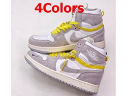 Mens And Women Nike Air Jordan 1 High Switch Basketball Shoes 4 Colors