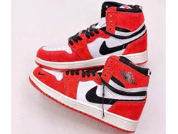 Mens And Women Nike Air Jordan 1 High Switch Basketball Shoes One Color