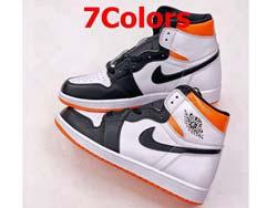Mens And Women Nike Air Jordan 1 Retro High Og Basketball Shoes 7 Colors