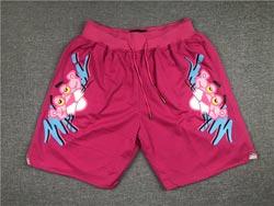 Nba Miami Heat Pink Pink Panther Pocket Shorts