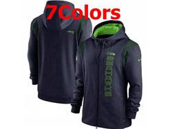 Mens Nfl Seattle Seahawks Nike Hoodie Jacket 7 Colors