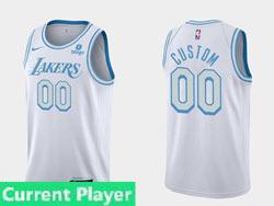 Mens Nba Los Angeles Lakers Current Player White 2021-22 Season Swingman Nike Jersey