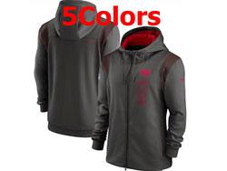 Mens Nfl Tampa Bay Buccaneers Nike Hoodie Jacket 5 Colors