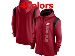 Mens Nfl Arizona Cardinals Nike Hoodie Jacket 4 Colors