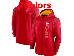 Mens Nfl Kansas City Chiefs Nike Hoodie Jacket 7 Colors